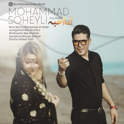 دانلود موزیک جدید محمد سهیلى انا احبه